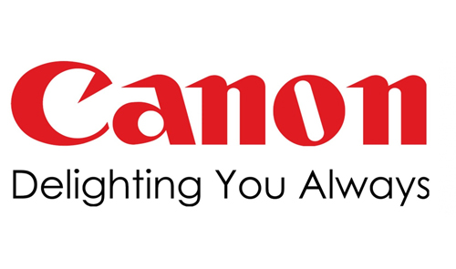 Displaying canon Logo