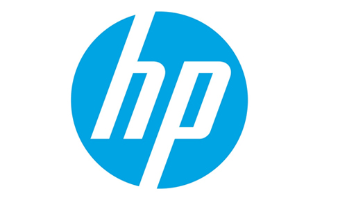 Displaying hp Logo