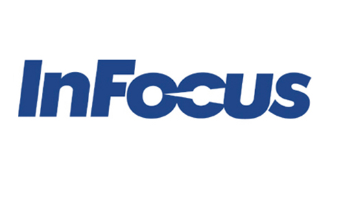 Displaying infocus logo