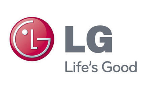 Displaying LG Logo