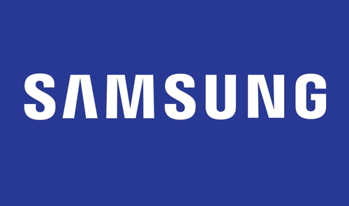 Displaying samsung Logo