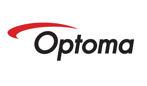 Displaying optoma logo