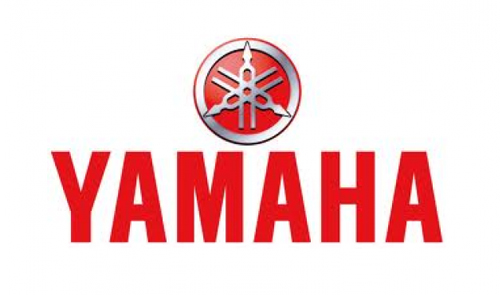 Displaying yamaha Logo
